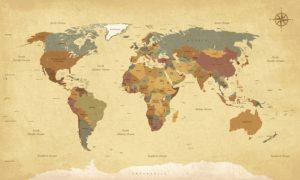 Mapamundi franquicias