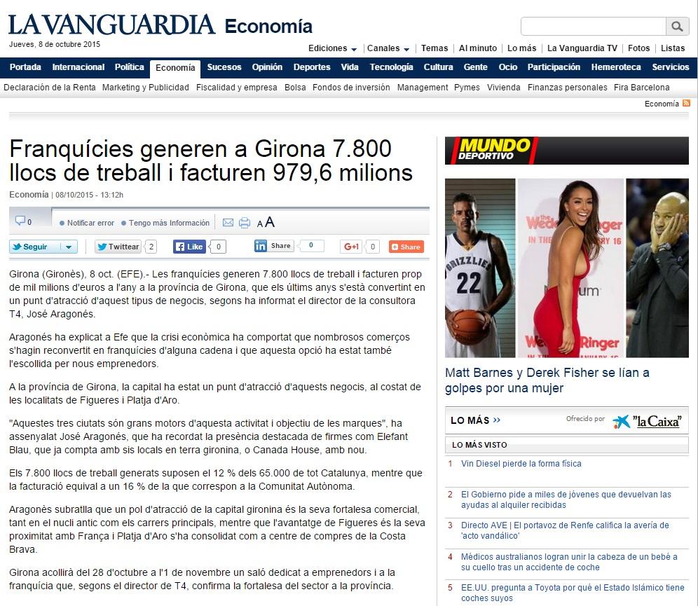 Las franquicias en Girona
