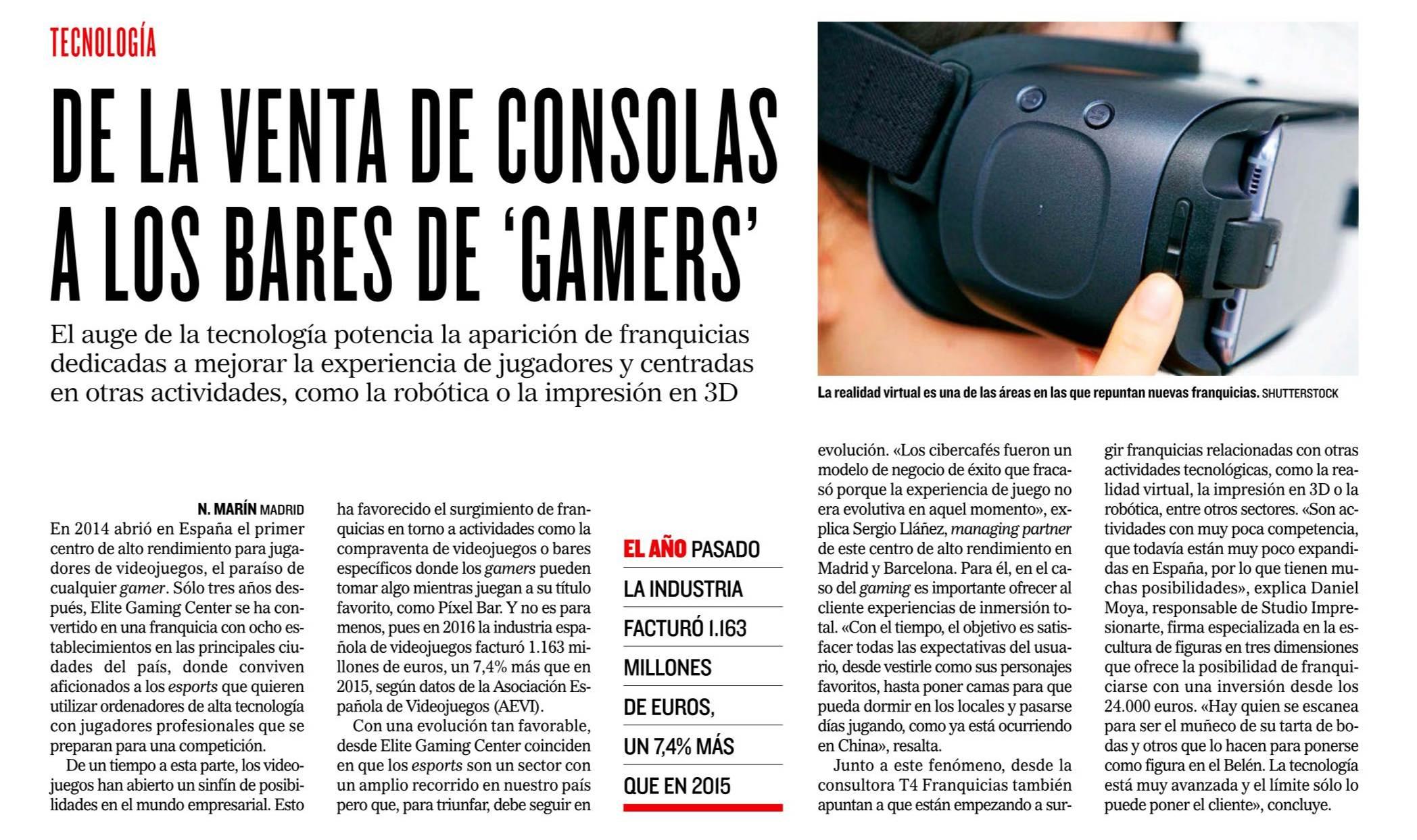 Franquicia Gamers Paradise