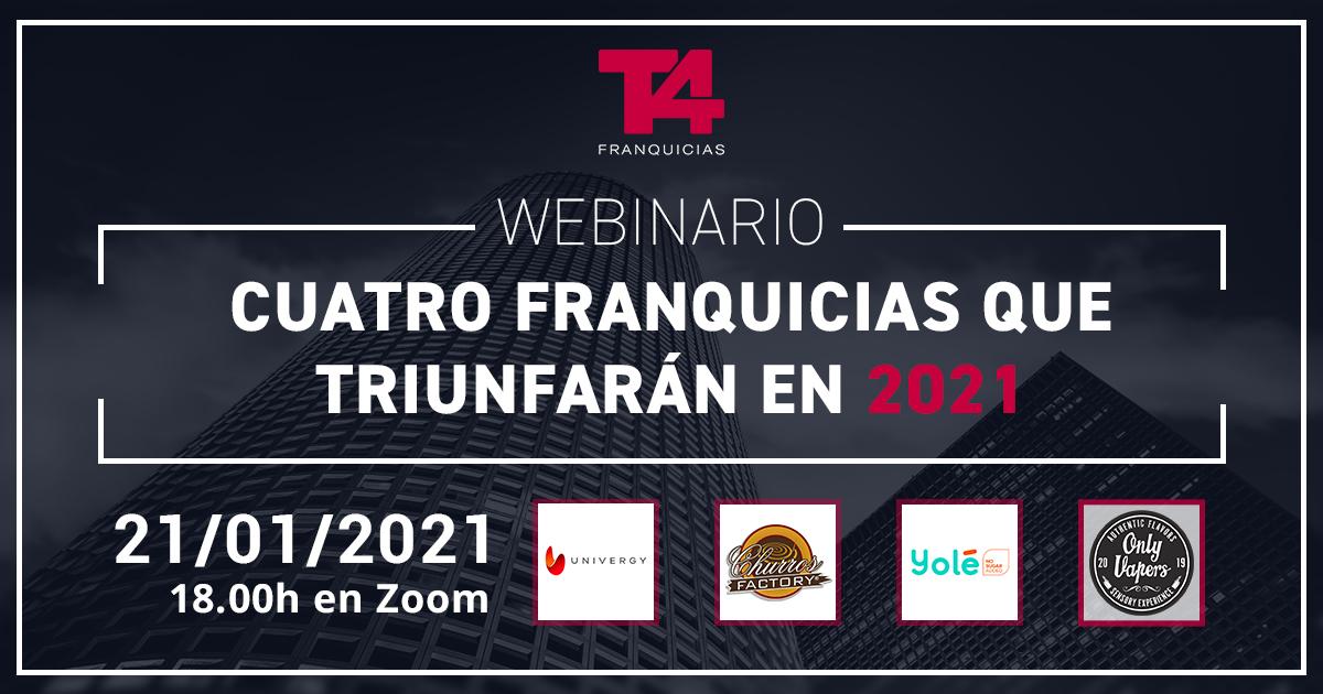 Webinar franquicias 2021